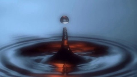 High Speed Water Drops